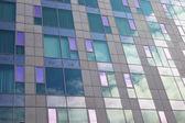 Glass facade of modern building — Stock Photo