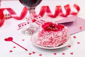 Valentine day still-life — Stock Photo