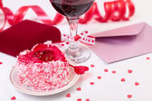 Valentine day still-life — Stock Photo