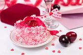 バレンタインの日の静物 — ストック写真