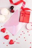 Walentynki prezent — Zdjęcie stockowe