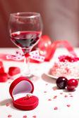 Sevgililer günü hediyesi — Stok fotoğraf