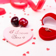 Stock Photo: Valentine Day Background