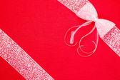 Bow and ribbon — Stock Photo