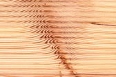 Corrugated Wood texture macro view — Stock Photo