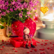 Stockfoto: Valentine greeting card - rendezvous