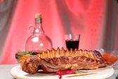 Delicious smoked ribs — Photo
