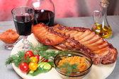 Delicious smoked ribs — Stock fotografie
