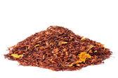 ひまわりの花を持つルイボス茶 — ストック写真