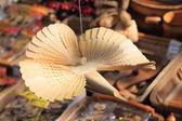 KRASNODAR, RUSSIA - SEPTEMBER 28 - Russian wooden carved bird, Krasnodar city day on 28, September in Krasnodar — Stockfoto