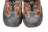 旧又脏的靴子 — 图库照片