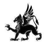 Griffin heraldry 2 — Stock Vector