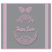 Easter postcard — Stock Vector