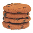 Stock Photo: Chocolate chip cookies