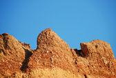 粘土の山 — ストック写真