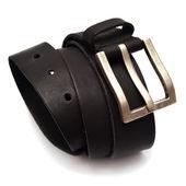 Men black belt — Stock Photo