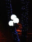 在晚上的灯笼 — 图库照片