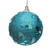 青いクリスマス ボール — ストック写真