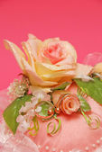 Wedding jewelry — Stock Photo
