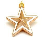 Christmas toy star — Stock Photo