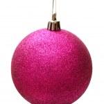 Pink christmas ball — Stock Photo #37099775