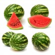 Collection of watermelon — Stock Photo
