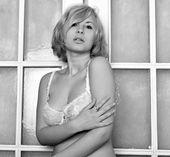 Prachtige naakt meisje — Stockfoto