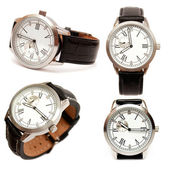 Group of men mechanical watches  — Stock Photo