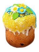Beautifully decorated easter cake — Stock Photo
