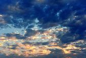Güzel renkli bulutlar — Stok fotoğraf