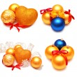 Collection of Christmas images — Stock Photo #48982703