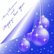 Royalty-Free Stock Vectorielle: Christmas and New Year greeting Card
