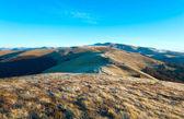 Morgon höst bergslandskap — Stockfoto