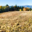 Stock Photo: Autumn mountain Nimchich pass (Carpathian, Ukraine)