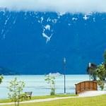 Achensee summer landscape (Austria). — Stock Photo #12548972