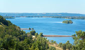 Summer Dnieper river (Ukraine). — Stock Photo
