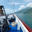 Stock Photo: Lake Como (Italy) view from ship