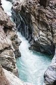 Liechtensteinklamm gorge (Austria) — Stock Photo