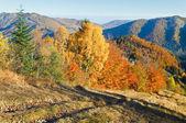 Nimchich valico di autunno — Foto Stock