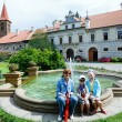 Stock Photo: Castle Pruhonice or Pruhonicky zamek summer view (Prague, Czech)