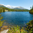 Strbske Pleso (Slovakia) spring view. — Stock Photo #15885763