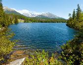 Strbske Pleso (Slovakia) spring view. — Stock Photo