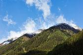 Silvretta ansicht der alpen-sommer, österreich — Stockfoto