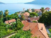 Cidade de Baía de Kotor e Herceg Novi (Montenegro) — Fotografia Stock
