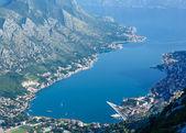 Kotor town on coast(Montenegro) — Stock Photo