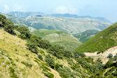 Summer Llogara pass (Albania) — Stock Photo