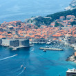 Dubrovnik Old Town view (Croatia) - Foto de Stock  