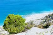 Summer Lefkada Island coast (Greece) — Stockfoto