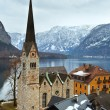 Hallstatt winter view (Austria) — Photo