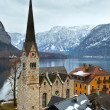 Hallstatt winter view (Austria) — Foto de stock #18888057